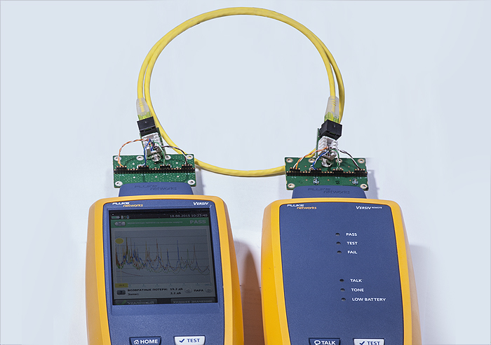 Методика анализа электро-частотных характеристик патч-кордов